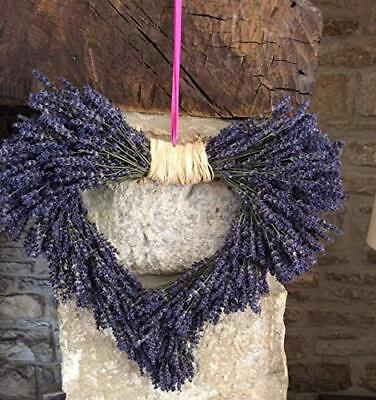 Dried Lavender Heart Shaped Wreath