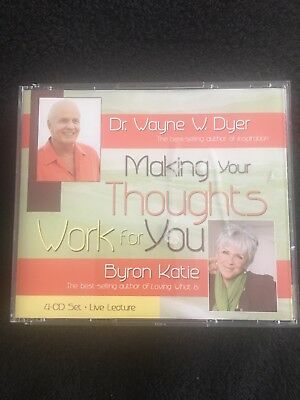 Making Your Thoughts Work for You Set by Byron Katie and Wayne Dyer (2007,...