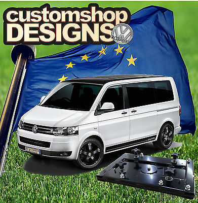 VW T6 Transporter Camper Van Double Seat Swivel Base (LHD European Model)