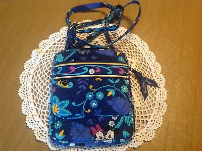 Vera Bradley DISNEY DREAMING Mini Hipster Crossbody Bag Mickey   Minnie  Mouse d942a857c0957