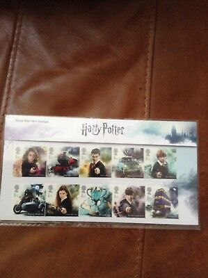 Harry Potter - Royal Mail Mint Stamps - Presentation Pack - 2018 Issue