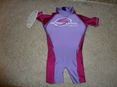 ActivSkins uv by NScessity Baby Flotation Suit, New with label. Size M 16kg