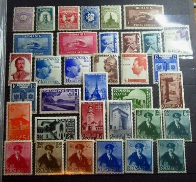 ROMANIA Old stamps Collection WWII - Mint MH - VF - r45e8132