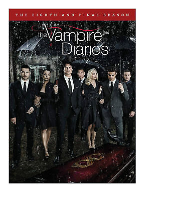 The Vampire Diaries: The Complete Eighth and Final Season 8 DVD, New Free S/H