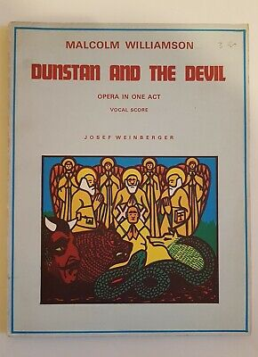 Malcolm Williamson: Dunstan and The Devil (Vocal Score)