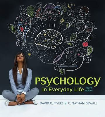 EB00K Psychology in Everyday Life by David G. Myers and C. Nathan DeWall