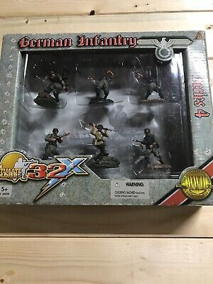 ULTIMATE SOLDIER 32X 1/32 SCALE WWII German  INFANTRY SOLDIERS SERIES 4