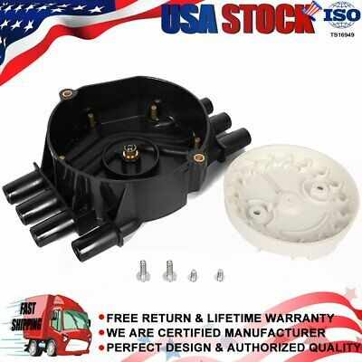 Distributor Cap and Rotor Kit for Chevrolet Chevy GMC 4.3L 5.0L 5.7L 1999-2008