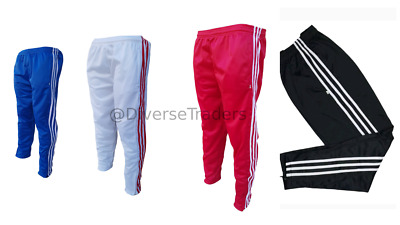 New Tracksuit Bottoms joggers bottoms casual wear Slim Fit WHITE RED BLACK BLUE