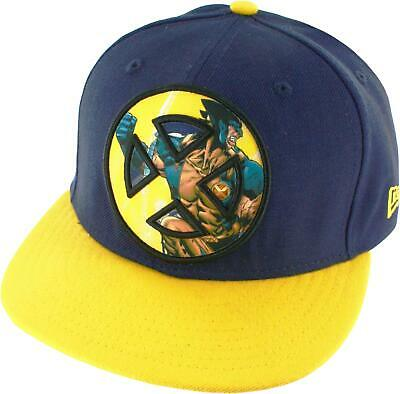 X-Men Wolverine Sublimated Action Logo 59FIFTY Flex-Fit Hat
