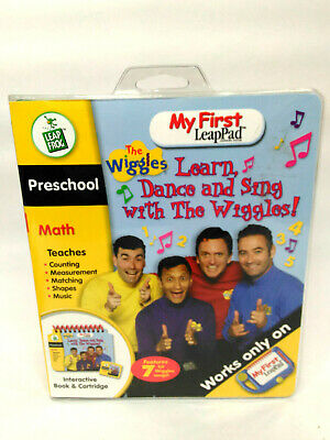 WIGGLES Leap Frog My First Leap Pad Learn Dance Sing with the Wiggles