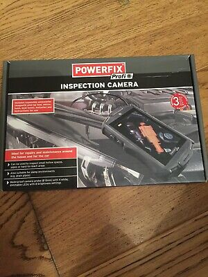 POWERFIX PROFI Inspection camera BRAND NEW BOXED SEALED