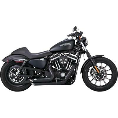 Vance & Hines - 47229 - Shortshots Staggered 2:2 Full Exhaust System (Black)