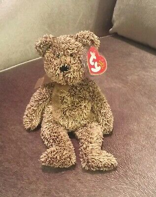NEW Harry The Bear RETIRED Ty Beanie Baby 2001-2002 MWMT - 730dbbe6d91c