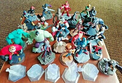 DISNEY INFINITY FIGURES + Playset Pieces 1.0/ 2.0/ 3.0 Figures for Xbox PS3 PS4