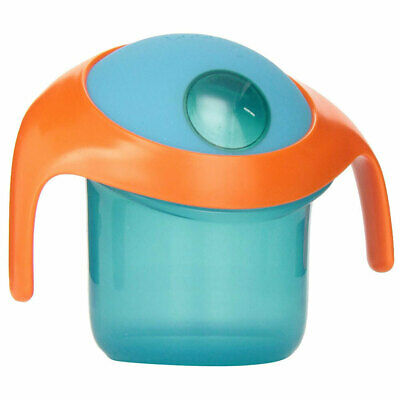 Boon Nosh Baby/Toddler Feeding BPA Free Snack Container Food Cup 9m+ w/ Lid Blue