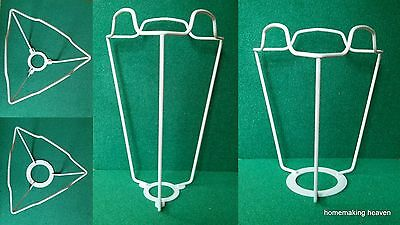 Shade carrier, lampshade carrier, UK or Continental for duplex fitting lampshade