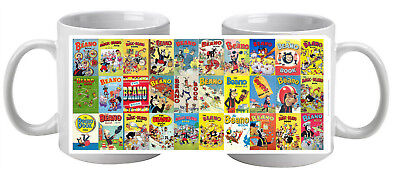The Beano 30 Annuals On A  Mug Great  Gift