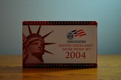2004 United States (US) Mint Silver Proof Set S