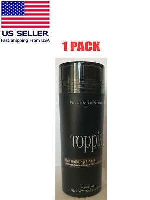 TOPPIK Hair Loss Building Fiber BLACK 27.5g FREE AND FAST SHIPPING IN USA