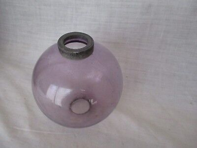Amethyst Purple Glass Lightning Rod Ball Roof Home Rustic primitive decor cabin
