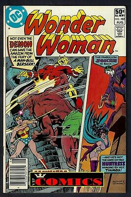 WONDER WOMAN (vol.1 1942-2011) #282 JOKER AUG 1981 F/VF (7.0) DC COMIC BOOK 1