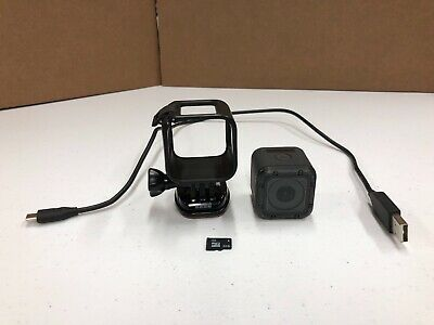 GoPro HERO 5 Session Waterproof 4K 10MP Ultra HD Action Camera Camcorder *TESTED