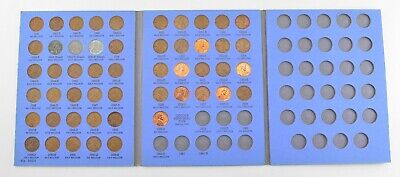 Complete 1941-58 Lincoln Wheat Cent Set - Includes 1943 Steel Cents! *019