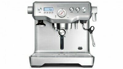Breville - Dual Boiler Coffee Machine - Stainless Steel