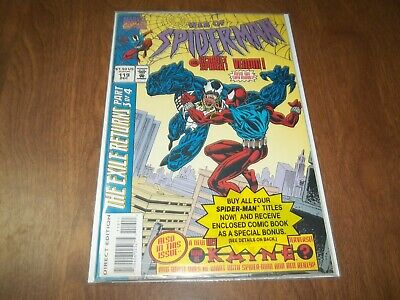 Web Of Spider-Man #119 Bagged With Amazing #150 Avg. Vf-Nm 1St Kaine