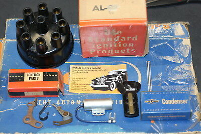 1936,1937,1938,1939,1940,1941,1942,Packard Ignition Distributor Tune Up Kit sw