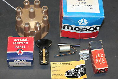 1960,1961,1962,1963,1964,1965,1966,Dodge Ignition Dist. Cap Tune Kit, 2585000