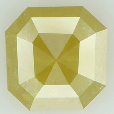 Natural Loose Diamond Radiant I3 Clarity Yellow Color 6.10 MM 0.95 Ct KR1646