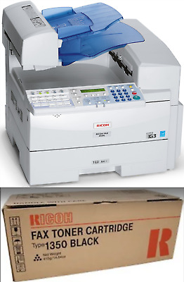 RICOH laser copier and extra box of toner [5000 pages]