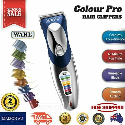 Wahl Cordless Hair Clipper Trimmer Shaver Electric Rechargeable Clippers Mens