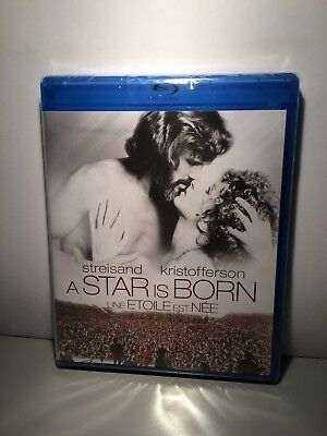 A Star is Born 1976 BRAND NEW USA BLU-RAY Barbra Streisand Kris Kristofferson