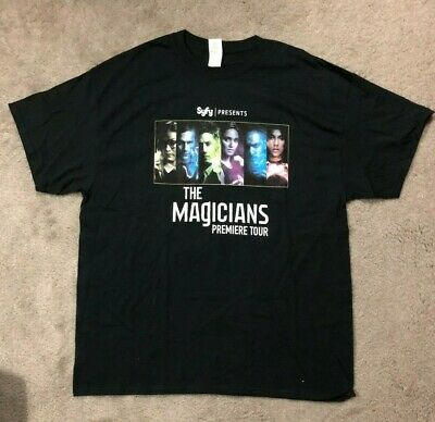 Brand NEW SYFY The Magicians 2016 Premiere Tour tee RARE XL