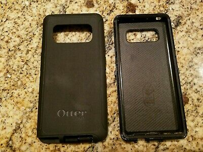 OTTERBOX Commuter Series Bumper Case for Samsung Galaxy Note 8 - Black, ECU!