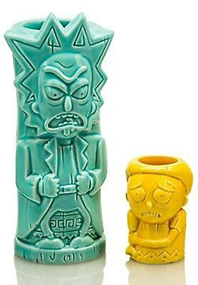 Rick And Morty Geeki Tiki Set Loot Crate DX Exclusive NEW IN BOX
