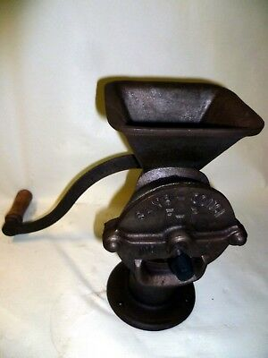 Gusseiserne alte Stand Kaffeemühle SANS SOUCI FTP No.1 old cast iron coffee mill