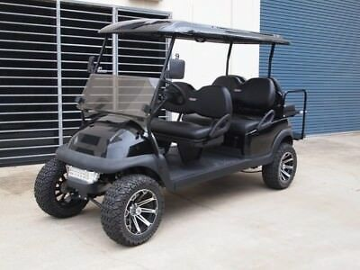 Golf Cart Buggy Car 6 Seater Custom Monster Cart With Lights