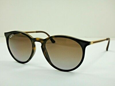 4cc967542c8 Ray-Ban RB4274 856 T5 Tortoise Gold Round Brown Lenses Sunglasses Polarized