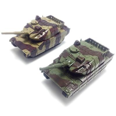 New Green Army Tank Cannon Model Toy Military Vehicles Plastic Toy Soldiers Gift