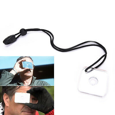 Outdoor Signal Mirror Lightweight Survival Emergency Rescue Signaling Device CYC