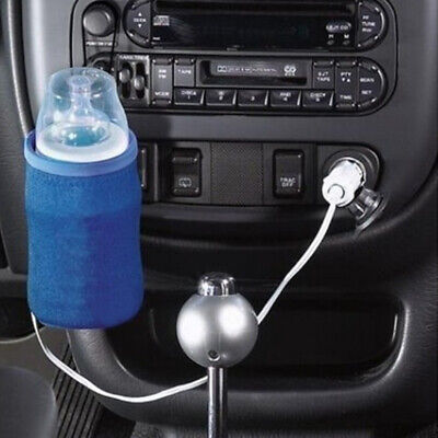 Universal Travel Baby Bottle Warmer 12V Car Auto Heater Drink Cup Milk Food LL