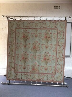 Wall Hanging by Laura Ashley with Stainless Steel rods and rings