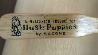1970's Circa A Meltonian Product for Hush Puppies by Saxone Wooden Handled Wire