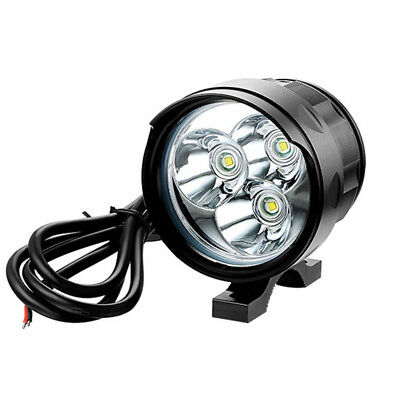 30W 3 LED Motorcycle Car Spot Driving Headlight Headlamp Fog Lamp Work Light