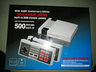 NES Mini Classic Edition Games Console With500 Nintendo Video Games Gift