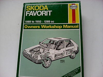 skoda favorit haynes manual pdf